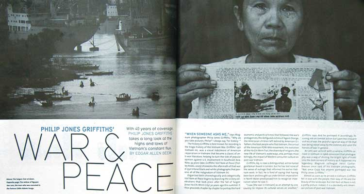 50 Years on the Frontlines: Phillip Jones Griffith Photographs
