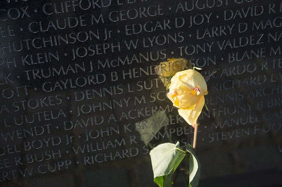 To the Men and Women Lost in the Vietnam War