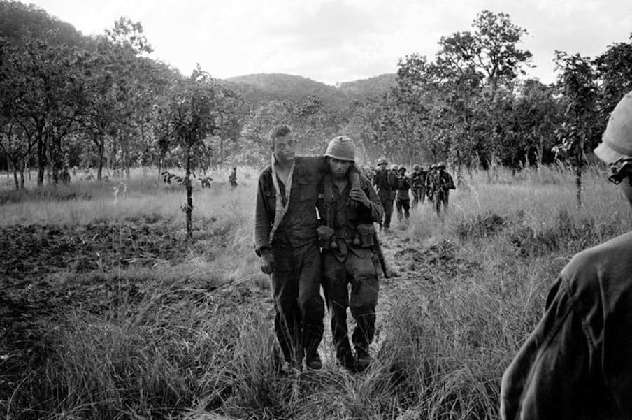 At the Bloody Dawn of the Vietnam War