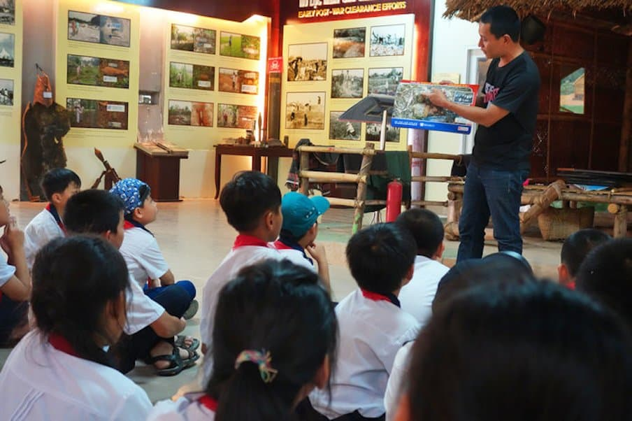 Teaching Kids In Vietnam To Avoid A Deadly, Everyday Legacy Of War