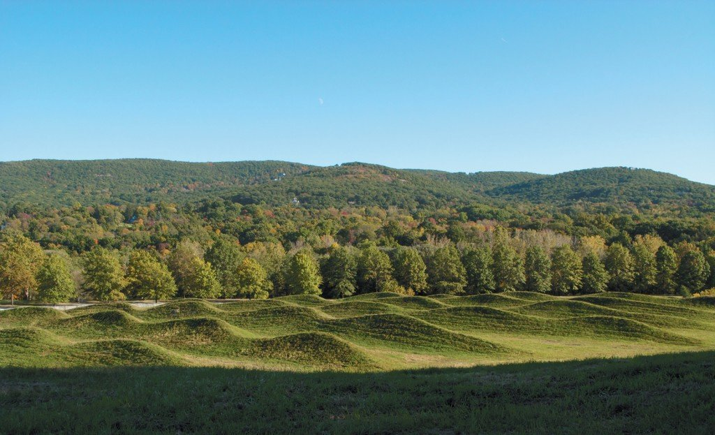 Maya Lin: Storm King Wavefield, Storm King Art Center, Mountainville, New York, 2009