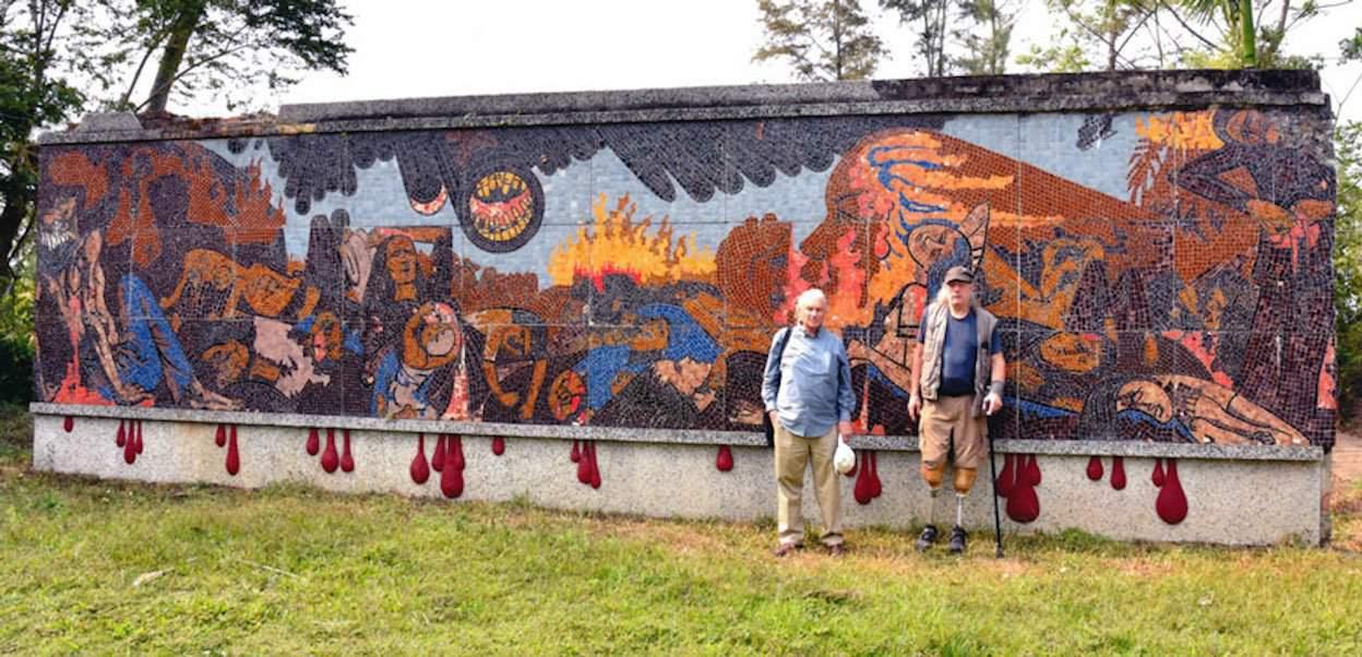 Mike Hastie: Okinawa & My Lai Mural Project Viet Nam