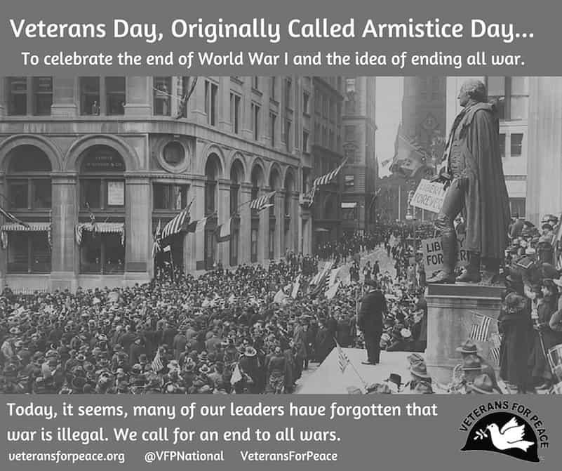 John Heuer's Last Op-Ed on Reclaiming Armistice Day