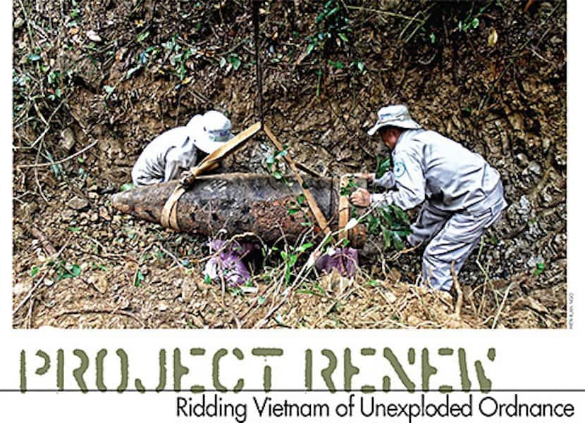 Project Renew: Ridding Vietnam of Unexploded Ordnance