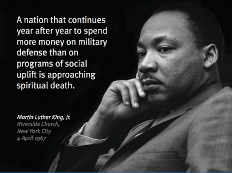 Take Action to Break the Silence, 50 Years Since Dr. MLK's 'Beyond Vietnam' Speech