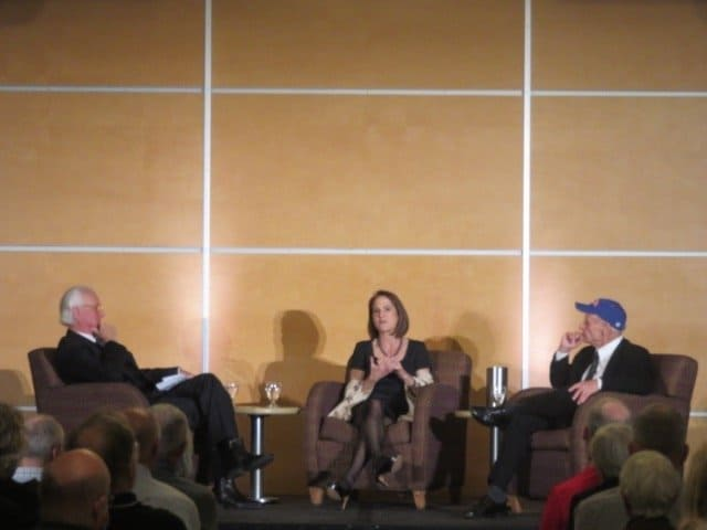 Forum with Tim O'Brien and Lynn Novick–Moderated by former news anchor Don Shelby