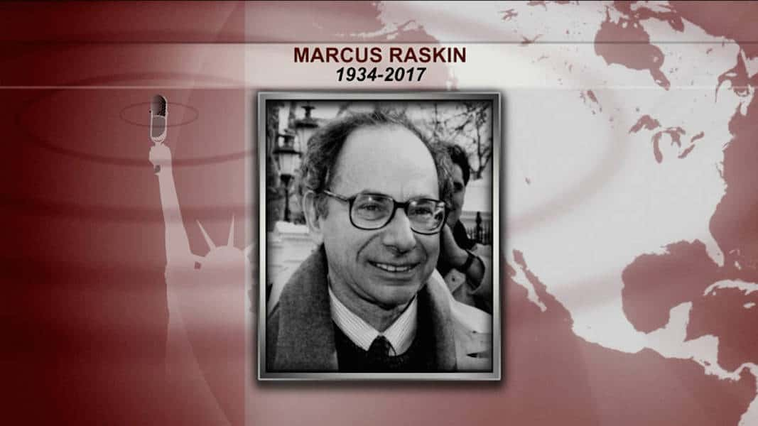 Author, Activist and Policy Advocate Marcus Raskin Dies at 83