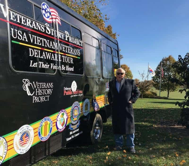 Bus rolls out to preserve Vietnam, Korean War history