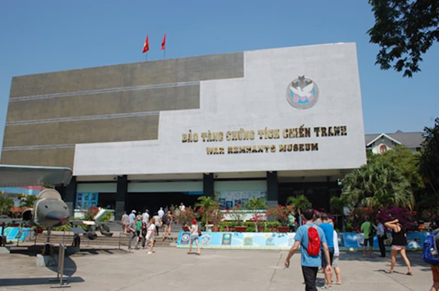 War Remnants Museum,  Ho Chi Minh City, Vietnam March 19, 2018 through April 15, 2018
