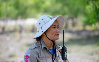 Meet the Team Leader of Vietnam's First All-Female Clearance Team