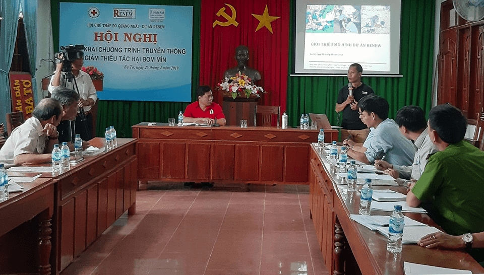 Project RENEW shares tools and skills to reduce UXO injuries to make Viet Nam safer