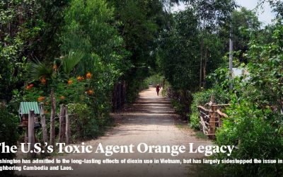Media coverage of Agent Orange widens its scope