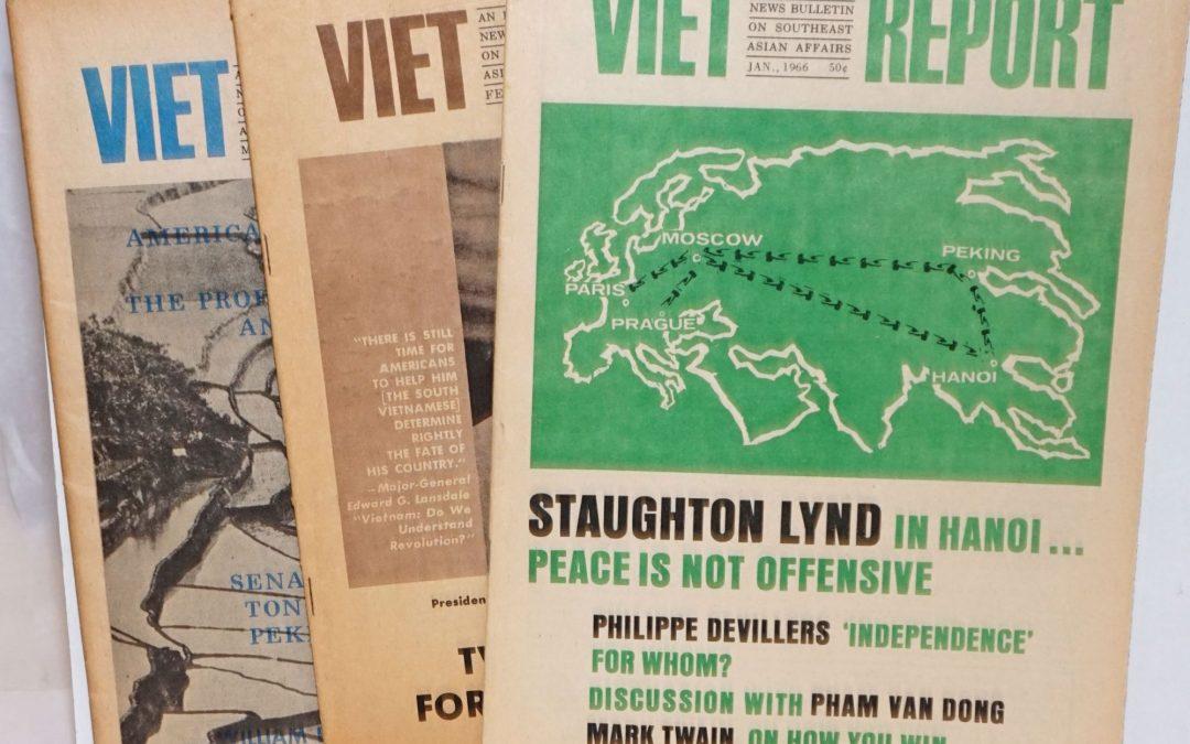 Remembering Carol Brightman and Viet Report