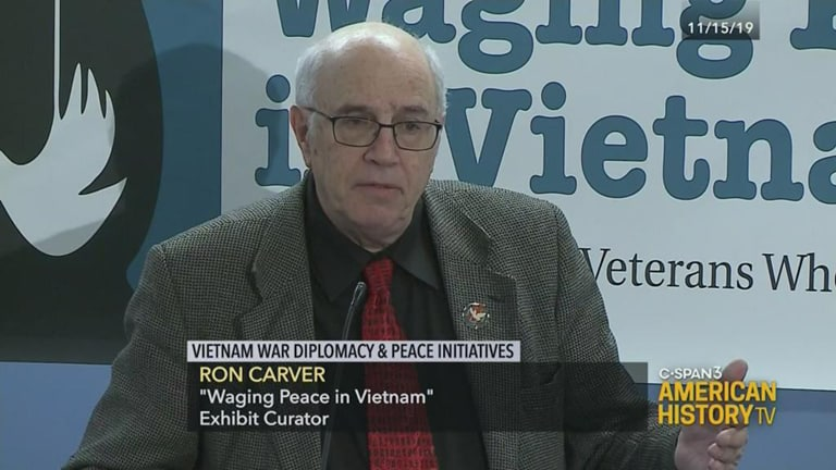Waging Peace on CSPAN!