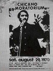 Chicano Moratorium 1970 poster