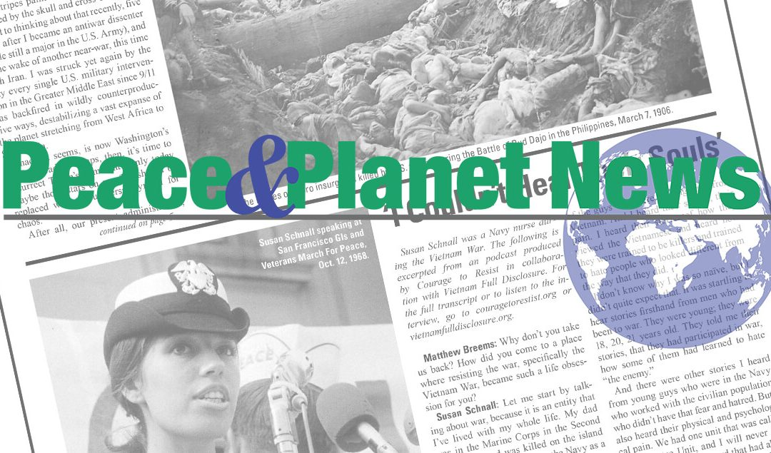 """Introducing """"Peace and Planet News""""; Order today!"""