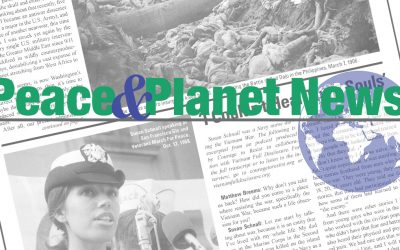 "Introducing ""Peace and Planet News""; Order today!"