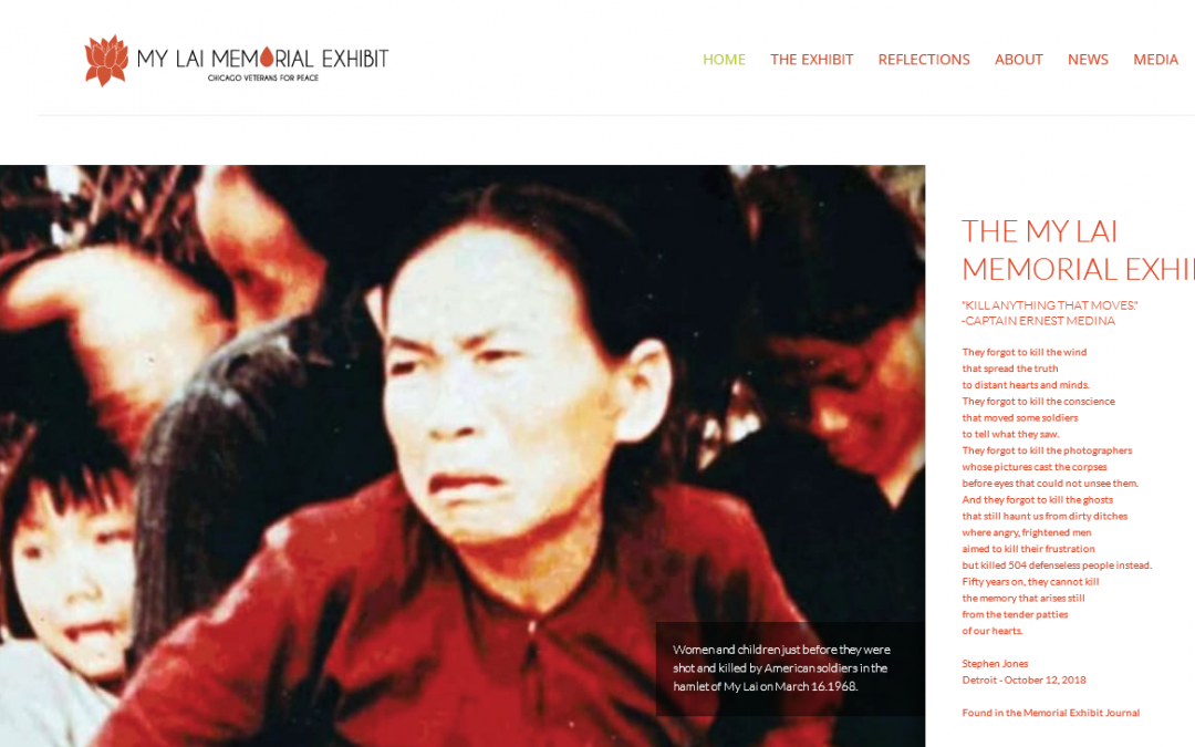 My Lai Memorial Exhibit Now Available for Online Viewing