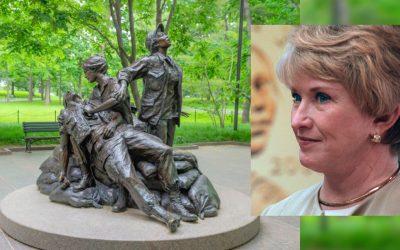 A journey of remembrance: Vietnam Women's Memorial sculpture