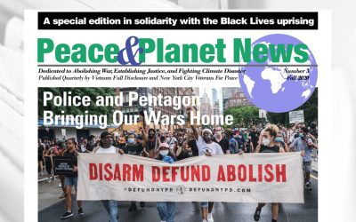 Peace & Planet News Issue #3, Black Lives special edition, now online