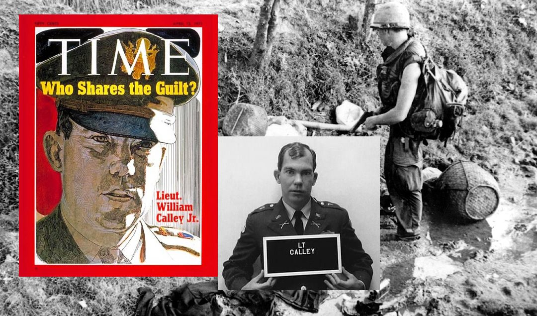 Trump's pardons recall the case of Lt. Calley Jr., convicted in the My Lai Massacre