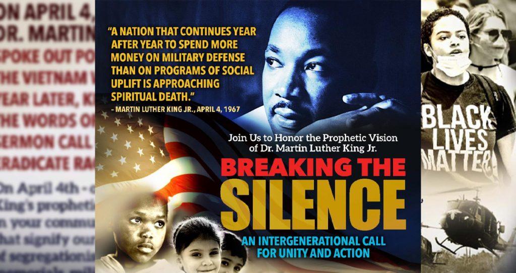 "Dr. King's ""Beyond Vietnam"" sermon national reading"
