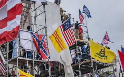 Why did the South Vietnamese flag fly over the Capitol riot?