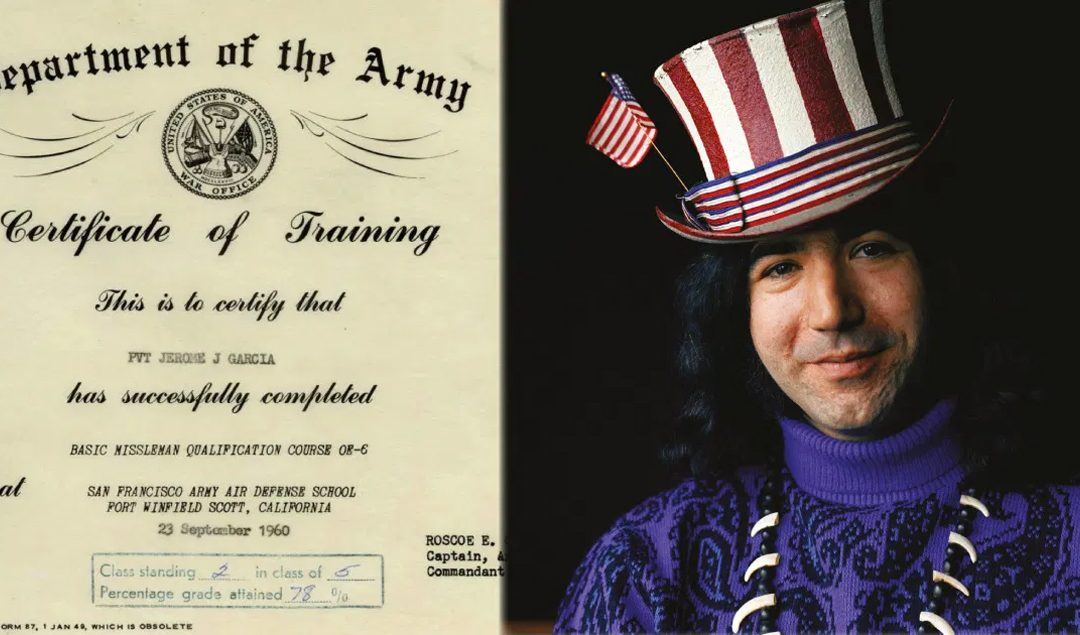 'Completely Lacking in Soldierly Qualities': US Army & Jerry Garcia